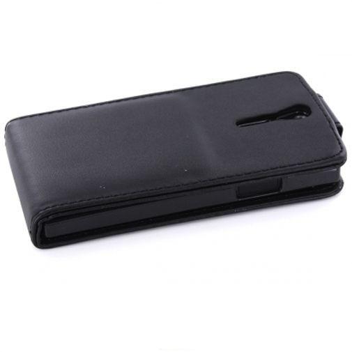 Productafbeelding van de Mobiparts PU Flip Case Sony Xperia S Black