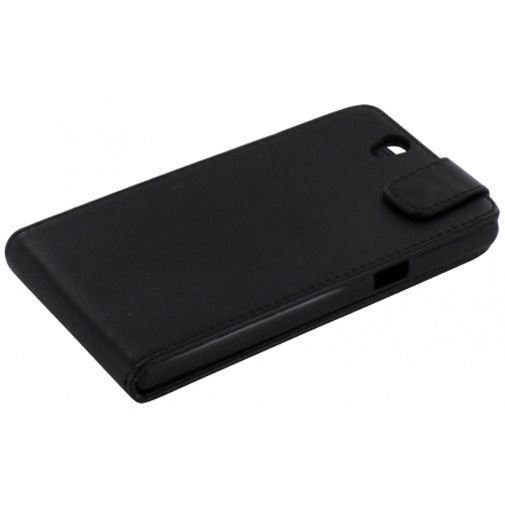 Productafbeelding van de Mobiparts PU Flip Case Sony Xperia Z Black