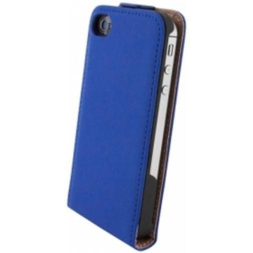 Productafbeelding van de Mobiparts Premium Flip Case Apple iPhone 4/4S Blue