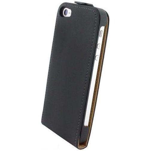 Productafbeelding van de Mobiparts Premium Flip Case Apple iPhone 5/5S/SE Black