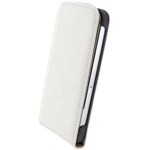 Productafbeelding van de Mobiparts Premium Flip Case Apple iPhone 5/5S/SE White