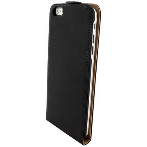 Productafbeelding van de Mobiparts Premium Flip Case Black Apple iPhone 6 Plus/6S Plus