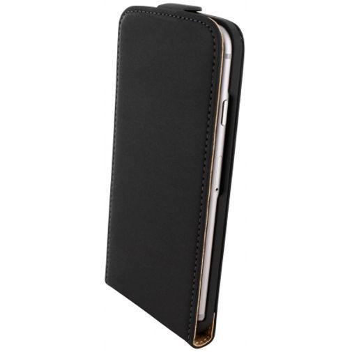 Produktimage des Mobiparts Premium Flip Case Schwarz Apple iPhone 6/6S