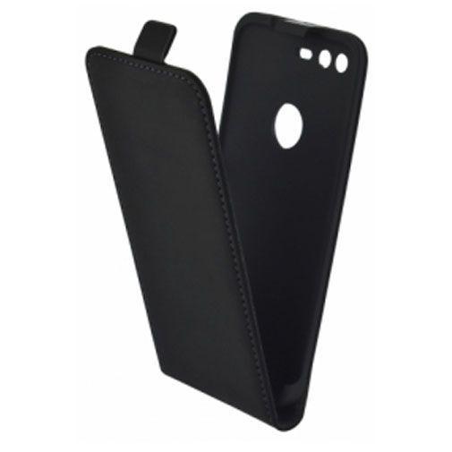 Productafbeelding van de Mobiparts Premium Flip Case Black Google Pixel