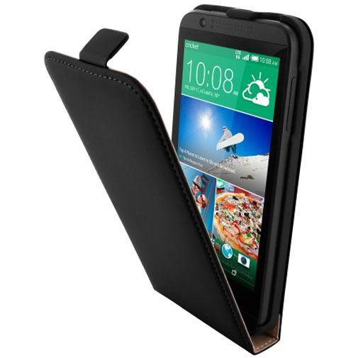 Productafbeelding van de Mobiparts Premium Flip Case Black HTC Desire 510