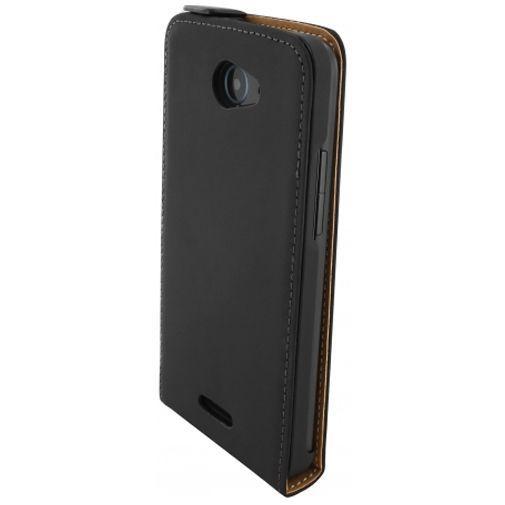 Productafbeelding van de Mobiparts Premium Flip Case Black HTC Desire 516
