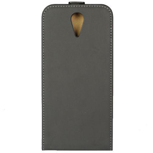 Productafbeelding van de Mobiparts Premium Flip Case Black HTC Desire 620