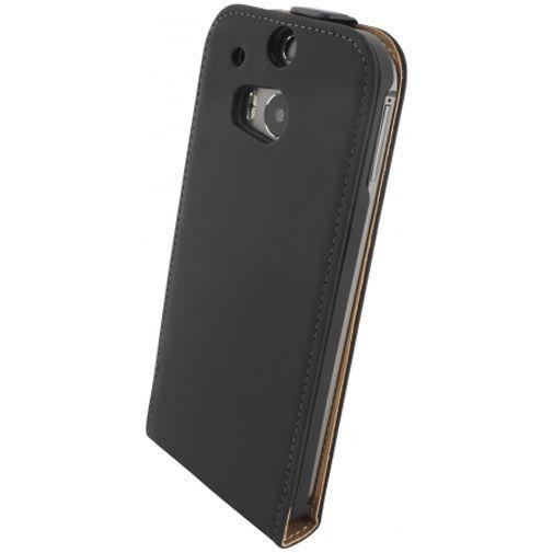 Productafbeelding van de Mobiparts Premium Flip Case Black HTC One M8