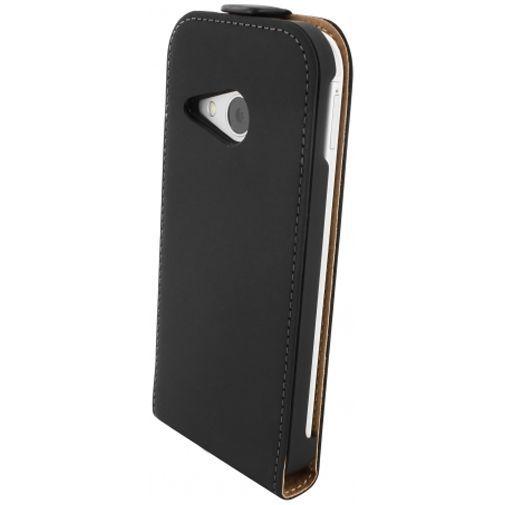 Productafbeelding van de Mobiparts Premium Flip Case Black HTC One Mini 2