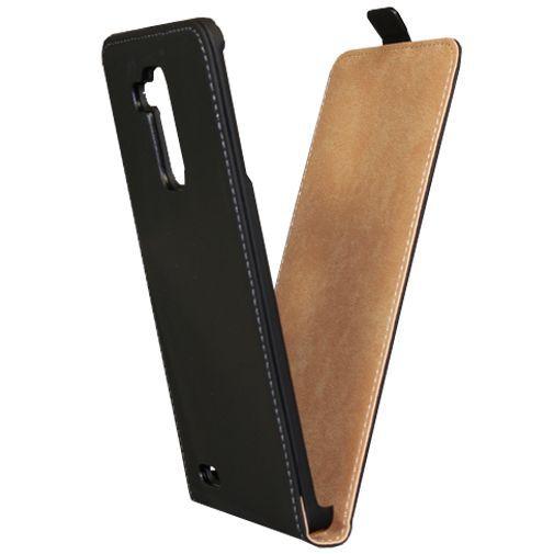 Productafbeelding van de Mobiparts Premium Flip Case Black Huawei Ascend Mate 7