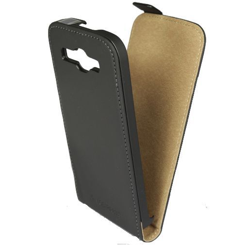 Productafbeelding van de Mobiparts Premium Flip Case Black Huawei Ascend Y540 Dual Sim