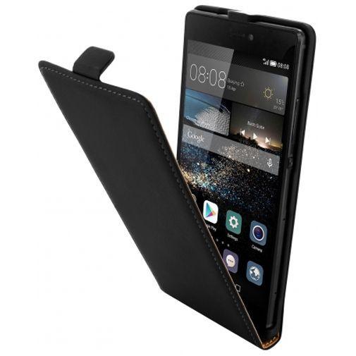 Productafbeelding van de Mobiparts Premium Flip Case Black Huawei P8
