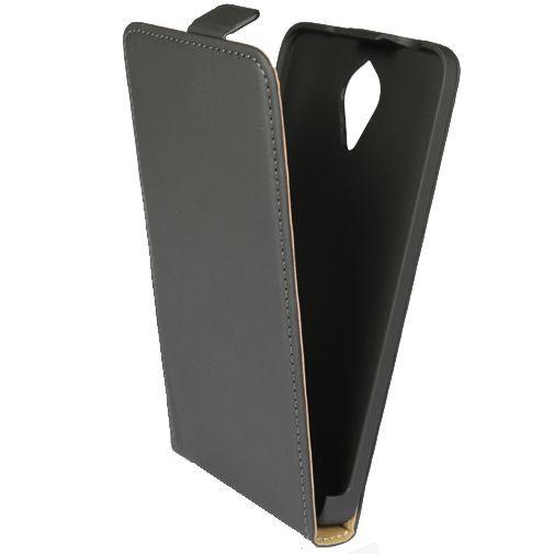 Productafbeelding van de Mobiparts Premium Flip Case Black Huawei Y635