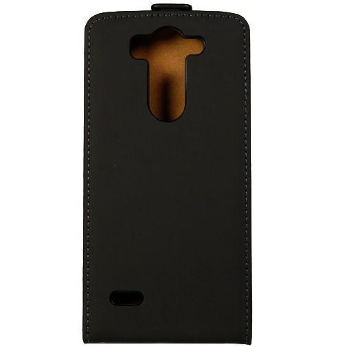 Productafbeelding van de Mobiparts Premium Flip Case Black LG G3 S