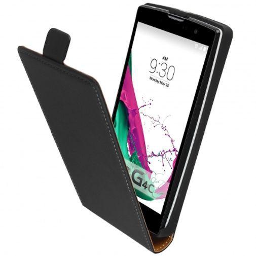 Productafbeelding van de Mobiparts Premium Flip Case Black LG G4c
