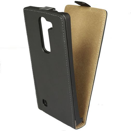 Productafbeelding van de Mobiparts Premium Flip Case Black LG Magna