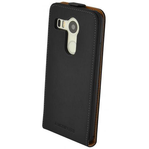 Productafbeelding van de Mobiparts Premium Flip Case Black LG Nexus 5X