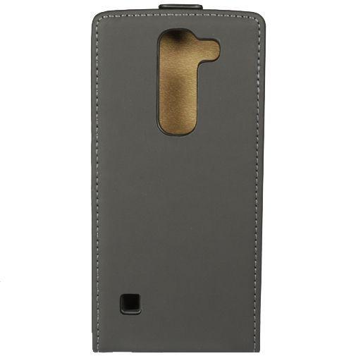 Productafbeelding van de Mobiparts Premium Flip Case Black LG Spirit