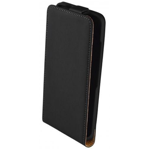 Productafbeelding van de Mobiparts Premium Flip Case Black Microsoft Lumia 550