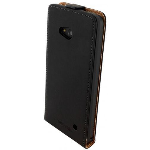Productafbeelding van de Mobiparts Premium Flip Case Black Microsoft Lumia 640 4G
