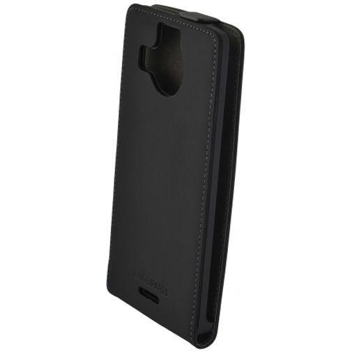 Productafbeelding van de Mobiparts Premium Flip Case Black Microsoft Lumia 950 XL