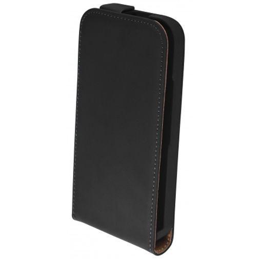 Productafbeelding van de Mobiparts Premium Flip Case Black Motorola Moto G (3rd Gen)