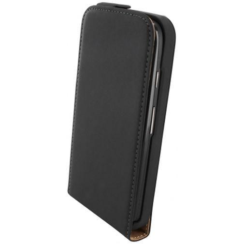 Productafbeelding van de Mobiparts Premium Flip Case Black Motorola Moto G