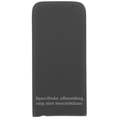 Productafbeelding van de Mobiparts Premium Flip Case Black Motorola Moto X Play