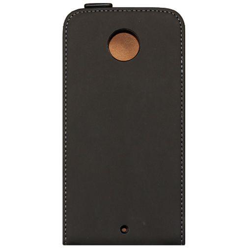 Productafbeelding van de Mobiparts Premium Flip Case Black Motorola New Moto X