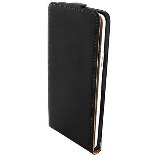 Mobiparts Premium Flip Case Black Samsung Galaxy A7