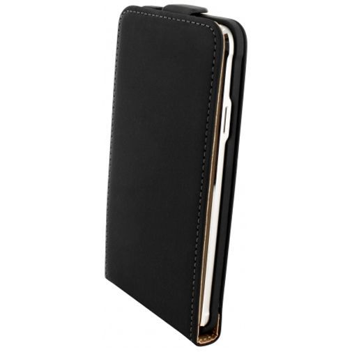 Productafbeelding van de Mobiparts Premium Flip Case Black Samsung Galaxy Alpha