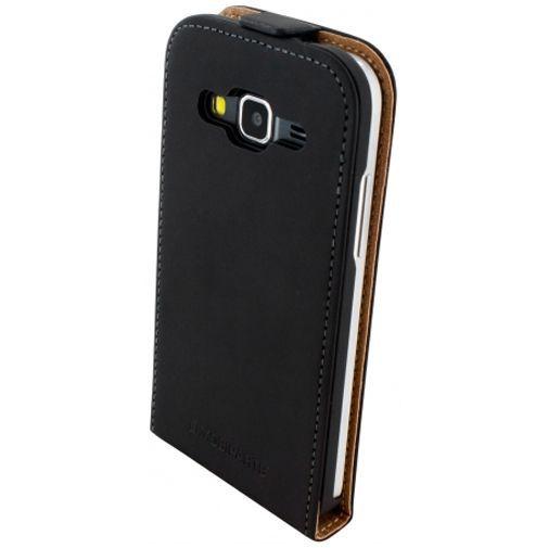 Productafbeelding van de Mobiparts Premium Flip Case Black Samsung Galaxy Core Prime (VE)