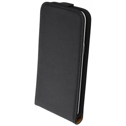Productafbeelding van de Mobiparts Premium Flip Case Black Samsung Galaxy J5