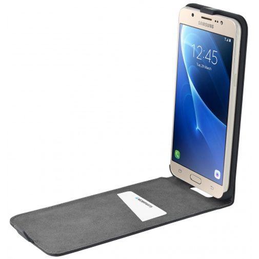 Productafbeelding van de Mobiparts Premium Flip Case Black Samsung Galaxy J7 (2016)