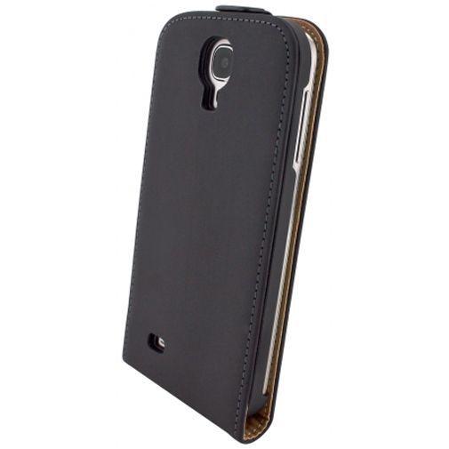 Productafbeelding van de Mobiparts Premium Flip Case Black Samsung Galaxy S4