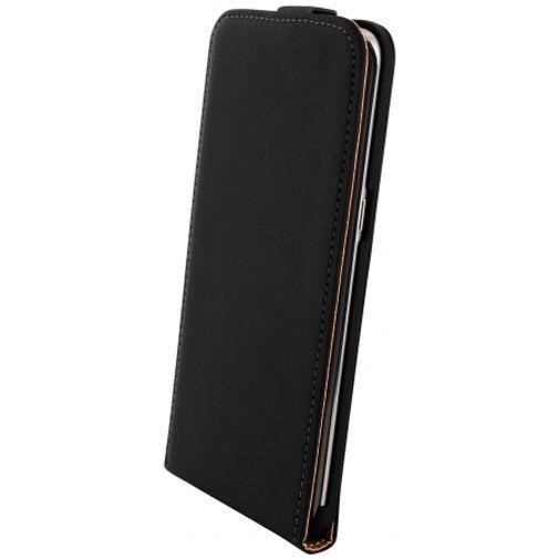 Productafbeelding van de Mobiparts Premium Flip Case Black Samsung Galaxy S6 Edge Plus