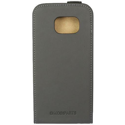 Productafbeelding van de Mobiparts Premium Flip Case Black Samsung Galaxy S6 Edge
