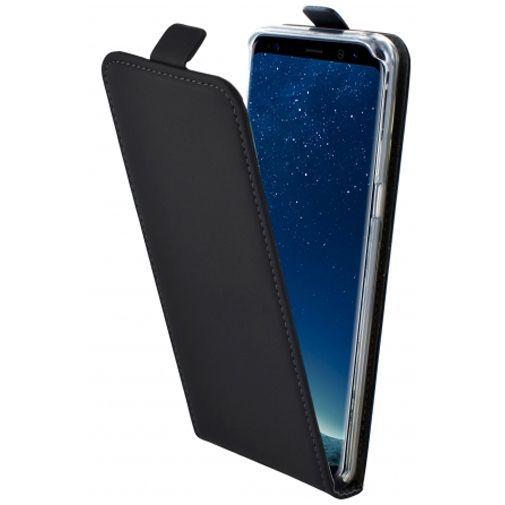 Productafbeelding van de Mobiparts Premium Flip Case Black Samsung Galaxy S8+