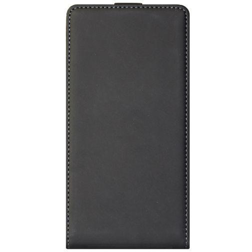 Productafbeelding van de Mobiparts Premium Flip Case Black Sony Xperia M2 Aqua