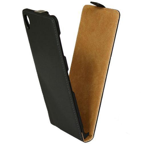 Productafbeelding van de Mobiparts Premium Flip Case Black Sony Xperia Z3