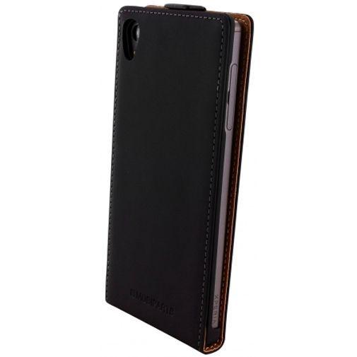 Productafbeelding van de Mobiparts Premium Flip Case Black Sony Xperia Z5