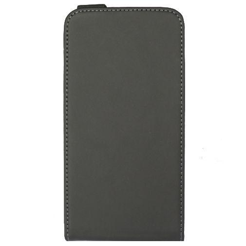 Productafbeelding van de Mobiparts Premium Flip Case Black Wiko Lenny