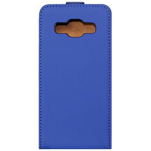 Productafbeelding van de Mobiparts Premium Flip Case Blue Samsung Galaxy A3