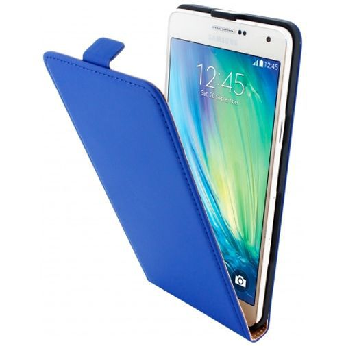 Productafbeelding van de Mobiparts Premium Flip Case Blue Samsung Galaxy A7