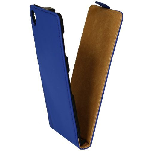 Productafbeelding van de Mobiparts Premium Flip Case Blue Sony Xperia Z3