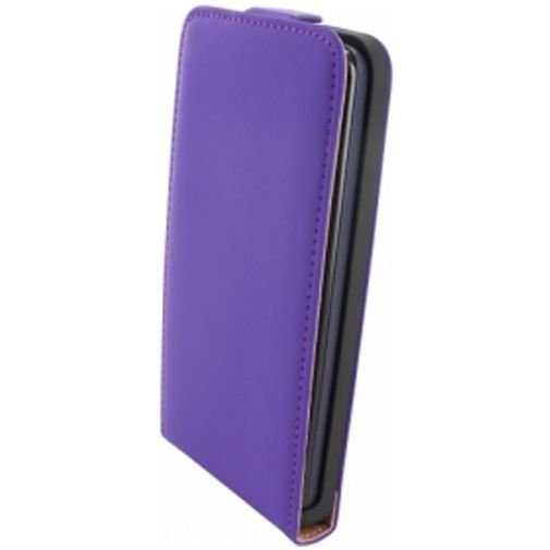 Productafbeelding van de Mobiparts Premium Flip Case Huawei Ascend G525 Purple