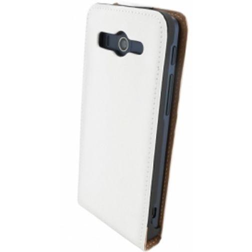 Productafbeelding van de Mobiparts Premium Flip Case Huawei Ascend G525 White