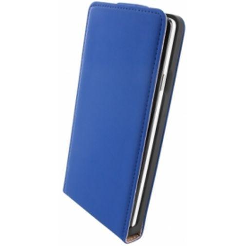 Productafbeelding van de Mobiparts Premium Flip Case Huawei Ascend G700 Blue