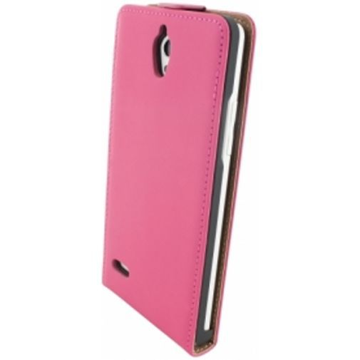 Productafbeelding van de Mobiparts Premium Flip Case Huawei Ascend G700 Pink