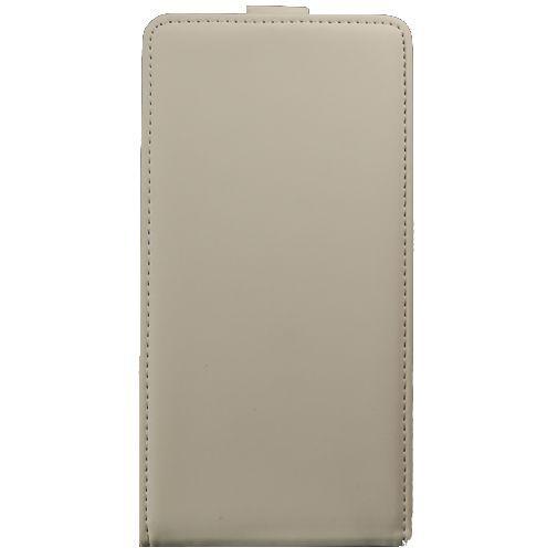 Productafbeelding van de Mobiparts Premium Flip Case Huawei Ascend G700 White